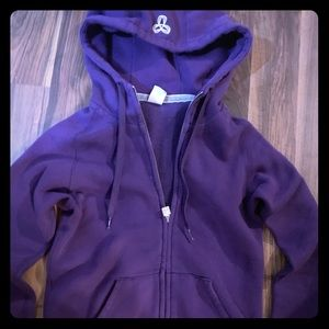Perfect condition TNA ZIP UP HOODIE SIZE XS